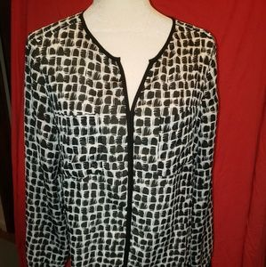 Liz Claiborne long sleeve blouse